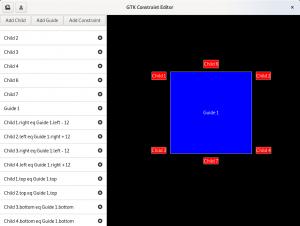 The GTK constraints editor demo